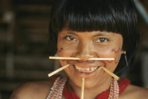 The Yanomamo tribes of Brazil and Venezuela are thought to have practiced endocannibalism by mixing the ashes of dead relatives with a plantain soup and consuming them.