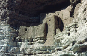 Anasazi sites like this one have yielded virtually definitive evidence of cannibalism.