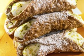 While ricotta may be the traditional filling, it's not like you're going to go to cannoli jail if you experiment with other fillings.