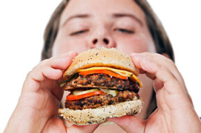 People who suffer from Prader-Willi syndrome have an insatiable appetite. They never feel full, so they don't stop eating.