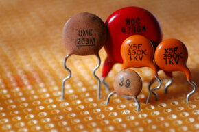 A family of capacitors
