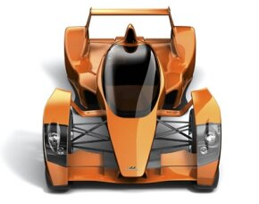 Front view of the Caparo T1.