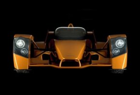 Typical F1 racing cars don't have headlights, where the Caparo T1 does.