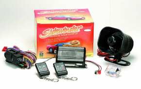 Image Gallery: Car Gadgets The Sidewinder car-alarm system includes a number of sensors and alarm signals. See more car gadget pictures.