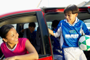 When it comes to insurance rates, soccer moms have the last laugh.
