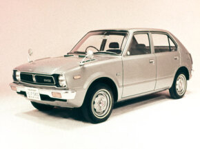 The 1973 Honda Civic 1500 was the first car to use the CVCC engine.