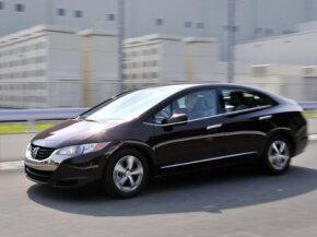 Honda's FCX Clarity is a zero emission vehicle (ZEV).