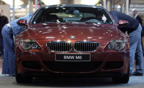 BMW has now incorporated carbon fiber into its M6 model.