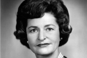 First lady Lady Bird Johnson remained supportive of Walter Jenkins throughout his arrest scandal.