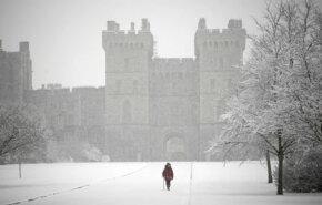 Windsor Castle is an official home of Queen Elizabeth II.