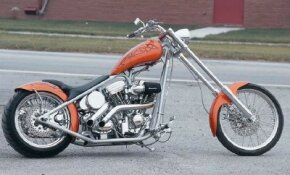 The Catalog Bike is a factory-modified chopper by Scooter Shooterz. See more chopper pictures.
