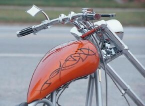 Catalog Bike's custom paint.