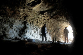 In Afghanistan, Taliban insurgents have made frequent use of caves as places to live and hide from U.S. troops. This cave in the Tora Bora Mountain is Bin Laden's last known house.
