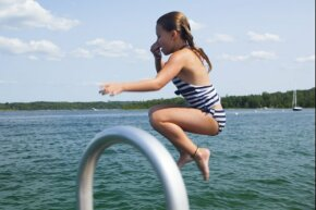 Scared of swimming in lakes because of brain-eating amoeba? Don't be. Just hold your nose when you're jumping in.