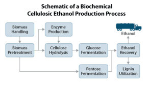 Cellulosic ethanol production from start to finish