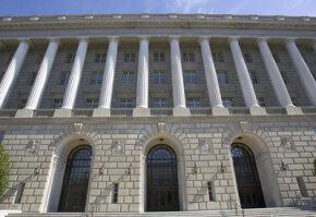 U.S. Internal Revenue Service building stands tall in Washington, D.C.