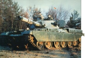 More than 1,900 Chieftain Main Battle Tanks were built in the United Kingdom, 900 for British forces and the remainder for several other countries.