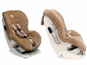 This convertible car seat is suitable for kids up to 40 pounds and should be installed rear facing for infants weighing 5-33 pounds and forward facing for children weighing 20-40 pounds.