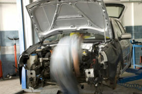 Most cars stolen by professionals are taken to illegal chop shops where they're dismantled and sold as parts.