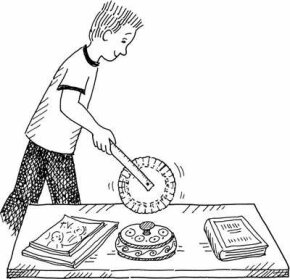 Wheel of Measure Christmas Activity