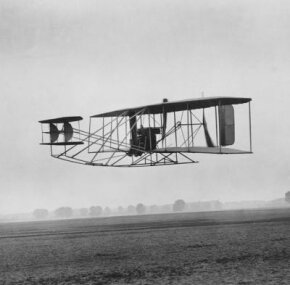 Wright Brothers' first flight.