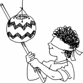 Balloon Pinata Cinco de Mayo Craft