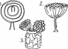Cinco de Mayo Flowers Cinco de Mayo Craft