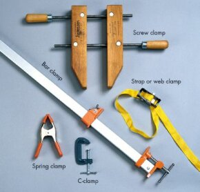 Whatever you need to hold in place, there's sure to be a clamp that's right for you.