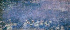 Morning by Claude Monet is an oil on canvas (78-3/4 x 83-5/8 inches) housed at Musée de L'Orangerie, Paris.