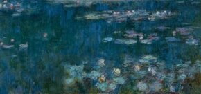 Water Lily Pond by Claude Monet was painted from 1920-1926. See more pictures of paintings by Monet.