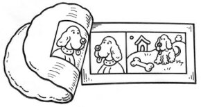 ©2007 Publications International, Ltd. Magically lift comic strip characters off the newspaper with crazy putty dough.