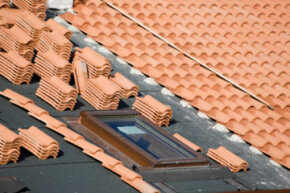 Green Living Image Gallery Clay roof tiles are cool in more ways than one -- they look stylish, and their curved shape allows for great ventilation. See more green living pictures.