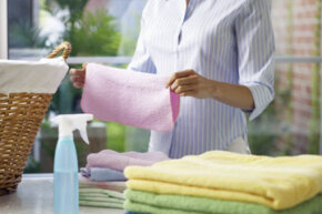 Don't just toss moldy clothes; try to salvage them!