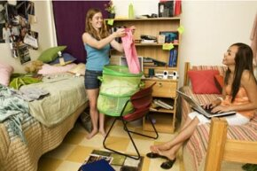 By talking with your roommate calmly and setting up a cleaning schedule, you might be able to lessen conflict and have a cleaner room.