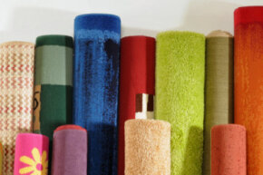 Wool carpeting comes in all shapes, sizes and colors, but it's cleaned the same way no matter the pattern.
