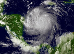 Green Science Image Gallery The Intergovernmental Panel on Climate Change predicts that, by 2100, weather events like hurricanes will increase in intensity. See more green science pictures.