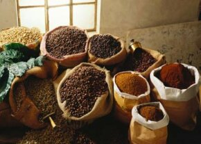 The word coffee comes from Kaffa, a region in Ethiopia where coffee beans may have been discovered.