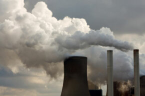 Fossil fuel burning is the largest source of CO2 in the atmosphere.