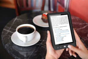 Coby tablets come with an e-book reader app that lets you download and read thousands of different books.