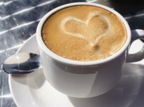 Coffee: good for the tastebuds as well as the heart.