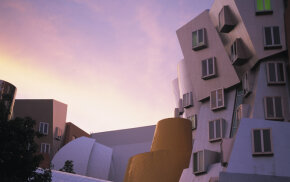 Famed architect Frank Gehry designed the Stata Center at the Massachusetts Institute of Technology.