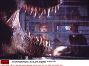 Jurassic Park was one of the first movies to integrate computer-generated characters with live actors.