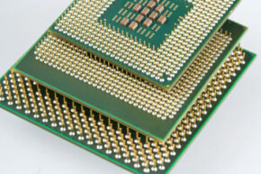 Computer Hardware Image Gallery Transistors are shrinking on microprocessors but can that continue indefinitely? See more computer hardware pictures.
