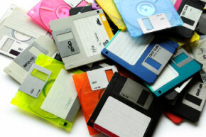 Ah, the floppy disk: When most people were using these to store and transport computer programs, viruses spread like wildfire.