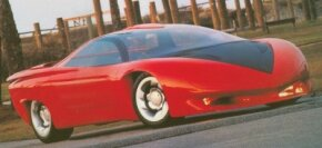 Look closely at the wild 1988 Pontiac Banshee concept car for hints of the 1993-2002 Pontiac Firebird predicted in its nose and tail. See more concept car pictures.