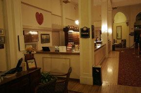 Concierge desk at The Mount Washington Hotel, New Hampshire