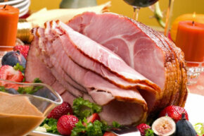 Impress your guests with a home-cooked ham. See more pictures of holiday noshes.