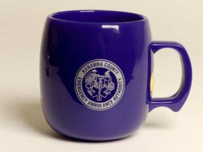 You might not be able to tell at first, but this mug is made from corn plastic -- and no, it won't make your morning cup of coffee taste like a creamed corn latte.