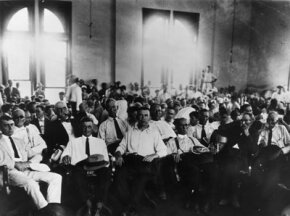 Jury in the Scopes trial