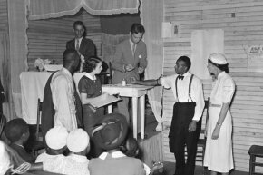 A man is tested for syphilis in Georgia in 1935. Interestingly, a 2008 study showed that the Tuskeegee Experiment didn't seem to have affected African-Americans' willingness to participate in biomedical research.
